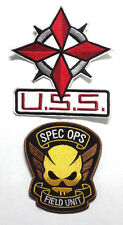 Resident Evil: Special Ops Video Game Logo Patch Set of 2- FREE S&H(REPASet-GA2)