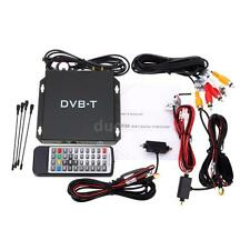 DVB-T Mobile Car Digital TV Box Tuner Signal Antenna Receiver Various Channel
