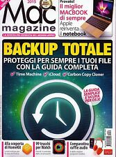 Mac Magazine 2015 83#Backup totale, Alla scoperta di HomeKit,ppp