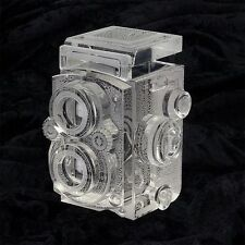 Fotodiox Crystal DSLR Camera Display Model Real Life Size Replica Rolleiflex 2.8