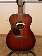 Martin 000-15M Burst Left Handed Acoustic Guitar with LR Baggs Pickup and Strap