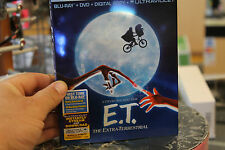 E.T. The Extra-Terrestrial (Anniversary Edition) Blu-Ray/DVD/DC/UV NEW SEALED