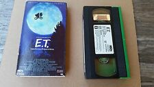 E.T. The Extra Terrestrial VHS Rare Green and Black Edition 1982