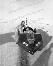 8x10 Print Wingfoot Express Bonneville Salt Flats Jet Car 1964 1964 #1a931