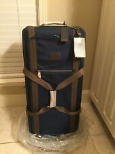 Tumi Alpha Bravo Meridian LARGE WAW DUFFEL Expandable Luggage 22443 Blue $795