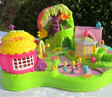 MINI Polly Pocket Magical Movin' Fairyland 100% complete Zauberwald TOP