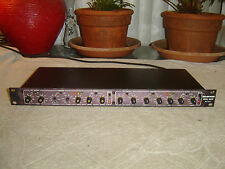 "Drawmer DS201, 1/4"" In/Out Version, Dual Noise Gate, Vintage Rack, As Is"