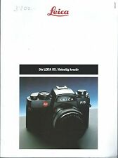 Camera Brochure - Leica - R5 - c1989 - GERMAN language (CB173)
