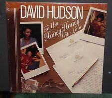David Hudson To You Honey Honey With Love LP vinyl record SEALED New soul
