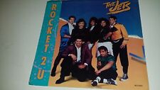 """THE JETS Rocket 2 U / Our Only Chance MCA 53254 WITH PICTURE SLEEVE POP 45 7"""""""