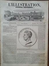 L' ILLUSTRATION 1846 N 188 ADAM-JEAN de KRUSENSTEN  LE CELEBRE NAVIGATEUR RUSSE