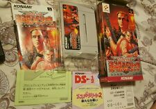 Contra Spirits Super Famicom Japan. Impossible to find COMPLETE !!!!