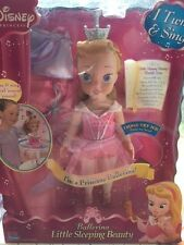 "Disney Princess 15"" Sleeping Beauty Ballerina Dance with me Playmates doll NEW"