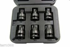 "1/2"" DRIVE BIG TORX BIT IMPACT SOCKET SET by VORLUX T55 T60 T70 T80 T90 T100"