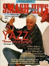 Yazz on Smash Hits Cover 25 January 1989 Bros Neneh Cherry Then Jerico Roachford
