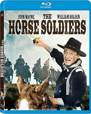 The Horse Soldiers (Blu-ray Disc, 2011) John Wayne NEW