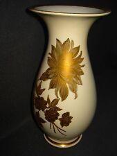 Große Roloff Prunk Vase.Handgemalt. Art Deco.