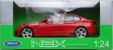Welly / Nex Models - BMW 335i rot 1:24 Neu/OVP Modellauto