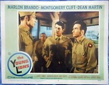 THE YOUNG LIONS MOVIE POSTER Montgomery Clift Dean Martin Lee Van Cleef LC #7
