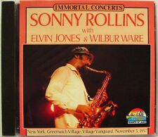 SONNY ROLLINS ELVIN JONES WILBUR WARE (CD) NEW YORK GREENWICH VILLAGE