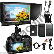"Lilliput 7"" 664/O/P IPS Peaking HDMI In Out Monitor shutter Canon 5D2 5D3 III"