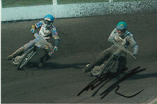 PAUL COOPER HAND SIGNED SCUNTHORPE SCORPIONS SPEEDWAY 6X4 PHOTO 24.