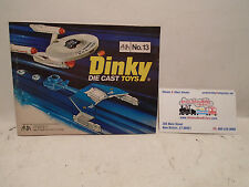 ORIGINAL 1976 DINKY TOYS CATALOG No.13 BLUE COVER