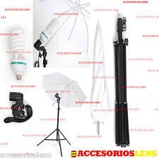 Kit Strobist pie estudio 200 cm,paraguas traslúcido 84cm,Kit de estudio Pro