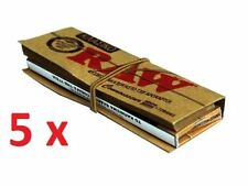 Raw Classic Rolling 50 Paper + 36 TIPS (Normal Size) 5 X 50 papers 5 X 36 tips