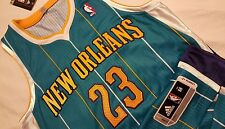 Anthony Davis New Orleans Hornets Rookie Authentic Pro Cut Adidas Jersey UK M+2