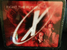 """X files """"Fight The Future"""" Metal Lunch Box"""