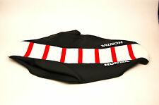 CRF450R 2005-08 CRF250R 2006-09  Red,White,Black Ribbed Honda Seat Cover