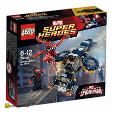 LEGO 76036 MARVEL SUPER HEROES Carnage's Shield Sky Attack | 91 Pieces | NEW