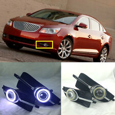 2PCS White LED Daytime Running Light DRL Fog Lamp for Buick LaCrosse 2010-2013