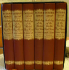 Anthology of the World's Best Poems, Memorial Edition, Six volumes in case