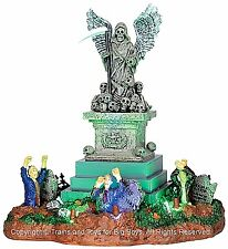 Lemax 34603 ANGEL OF DEATH Spooky Town Table Accent Animated Halloween Decor I