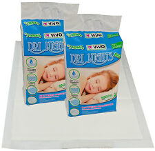 60 Disposable Mattress Sheet Incontinence Protector Pads Baby Toddler Training