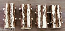 HO 4 ROUGH CUT LUMBER LOADS that fits the Classic Metal Works Flat Bed Trucks