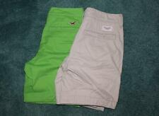 Lot of 2 Men's Khaki Shorts Size 28 Abercrombie & Fitch and Hollister NWOT!