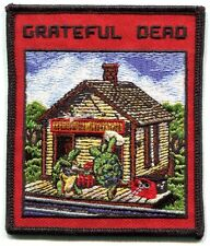 GRATEFUL DEAD terrapin station EMBROIDERED IRON-ON PATCH **FREE SHIPPING** p1970
