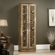 "Sauder 70"" Tall East Canyon Storage Cabinet In Craftsman Oak Finish 416573 NEW"