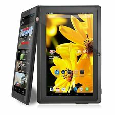 7 Pulgadas Quad Core 1.3 ghz Android 8 Gb Doble Cámara Wifi Bluetooth Mic Tablet Negro