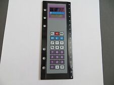 Solar calculator for a  Filofaxwith with 16 cm ruler 1980's