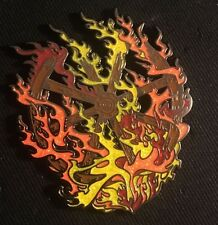 "Grateful Dead-Mark Serlo ""LE 150 Burning Firewheel"" Pin Limited Edition Sold Out"