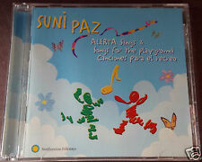 SUNI PAZ Alberta Sings & Songs For The Playground Canciones Para El Recreo CD