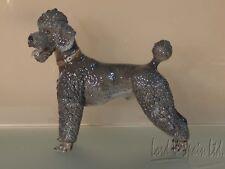 Rosenthal Porcelain Prof T Karner Grey Poodle Figurine-#1211