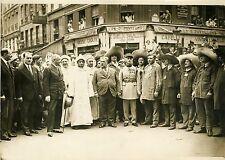 """""""MOHAMMED V Sultan du MAROC à Paris 1931"""" Photo originale G.DEVRED / Agce ROL"""