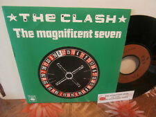 "the clash""the magnificent seven""single7""or.fr.cbs:A1134/cb111 + encart juke-box."