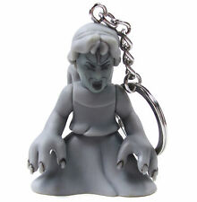 """DOCTOR WHO Time Squad Character Keychain WEEPING ANGEL 3"""" Figure Bag Clip Hanger"""