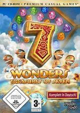 Next 7 wonders treasures of seven * allemand * * excellent état